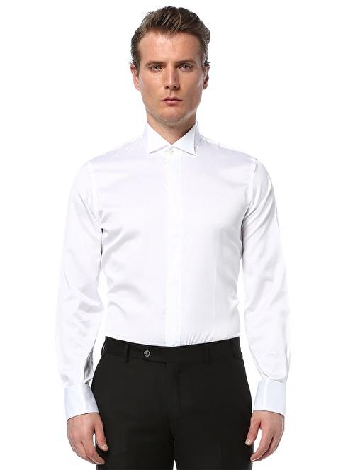 Beymen Collection Klasik Gömlek Beyaz